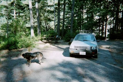 Panther Creek campground Six Rivers National Forest Oregon