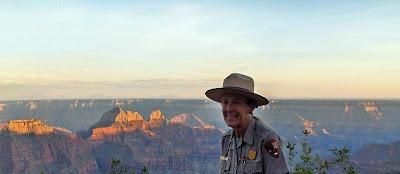 Ranger Gaelyn North Rim Grand Canyon National Park Arizona