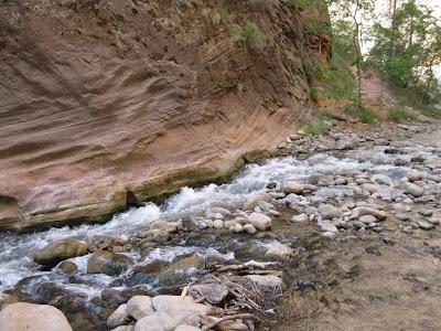 The Virgin River Zion National Park Utah