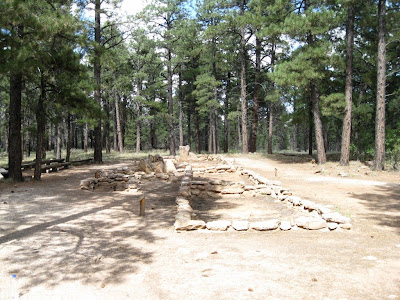 Ancestral Puebloan ruin Walhalla Glades North Rim Grand Canyon National Park Arizona