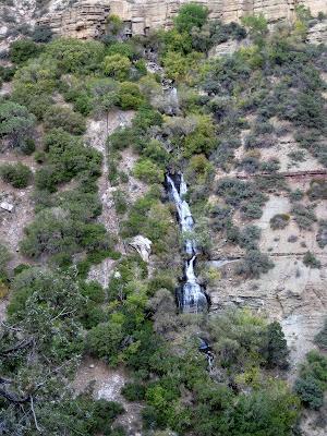 Roaring Springs North Kaibab trail Grand Canyon National Park Arizona