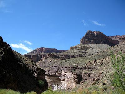 North end The Box North Kaibab trail Grand Canyon National Park Arizona