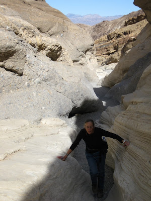 Gaelyn in Mosaic Canyon Death Valley National Park California