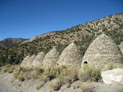 Wildrose Charcoal kilns Death Valley National Park California