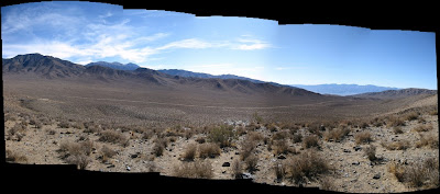 Highway 190 and the Panamint Range Death Valley National Park California