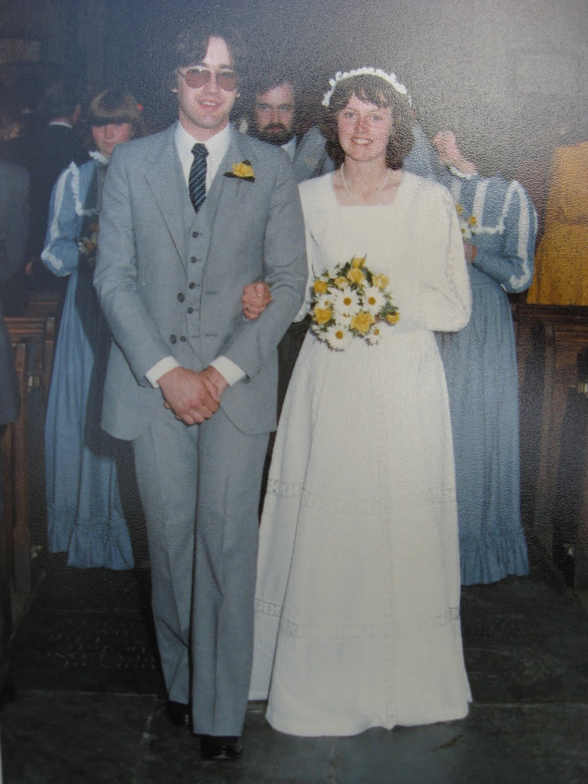 vintage weddings laura ashley wedding dresses I really hope I can look as elegant as these brides on my big day Which dress is your favourite 20s 30s 50s or 70s