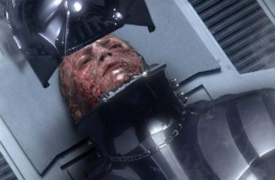 Resultado de imagen para Darth Sidious cara quemada