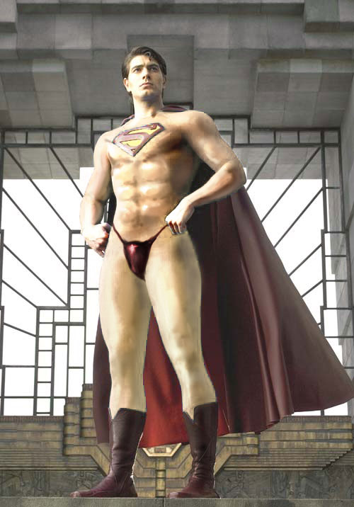 Semi-Naked Superman