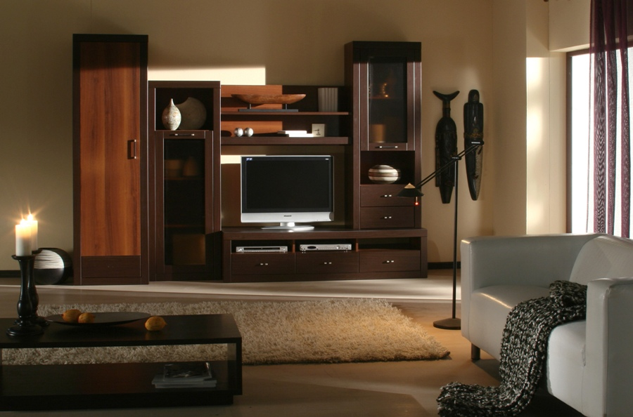 Furniture tv stands 21 photos kerala home design and for Latest furniture designs for hall