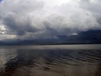 LAKE SINGKARAK West Sumatera, Indonesia