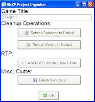 Project Organiser (RMXP) - Fig. 2