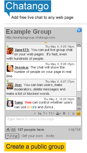 Popular Chatango Chat Rooms