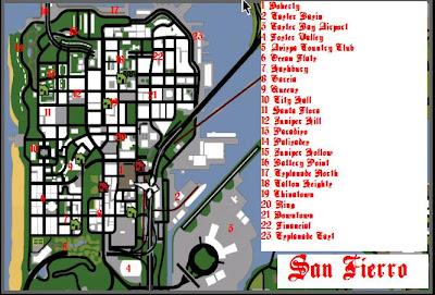 Pregunta Mapa Gta SA - Taringa!