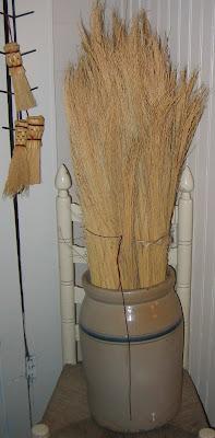 handmade brooms | Lady Katherine Tea Parlor