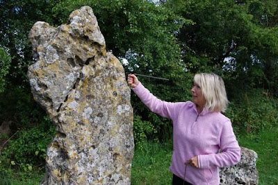 Dowsing at Rollright Stones - Kit Berry