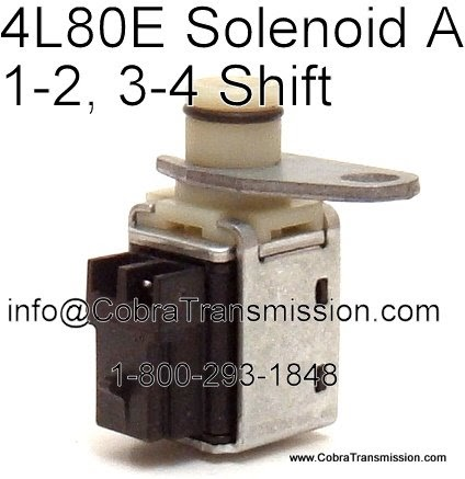 Cobra Transmission Parts 18002931848: Solenoids for the workhorse 4L80E