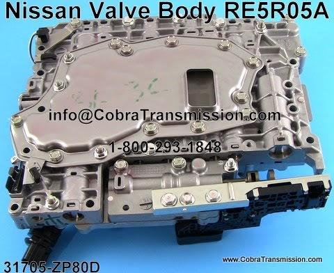 2007 Infiniti M45 >> Cobra Transmission Parts 1-800-293-1848: TCM And Valve ...