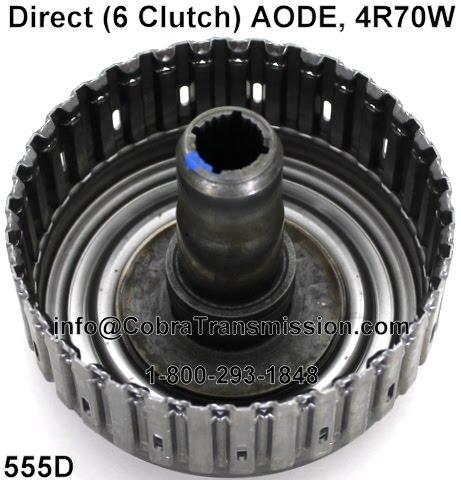 Cobra Transmission Parts 1-800-293-1848: AODE, 4R70W Transmission