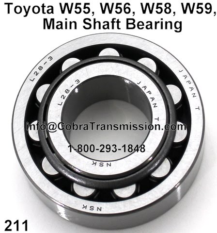 Cobra Transmission Parts 1-800-293-1848: Toyota's own W40 And W50
