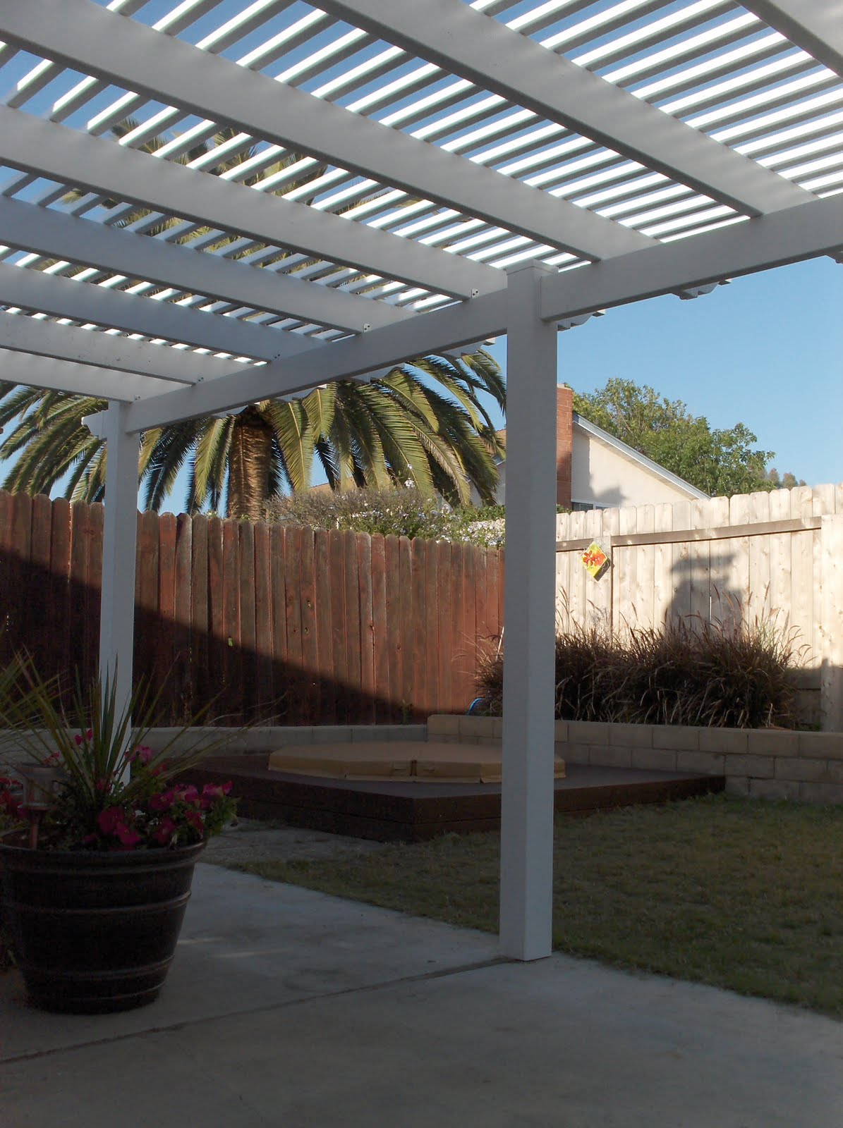 Patio Cover Load Calculator: ProDeck Construction: Before And After: Deck And Patio Cover