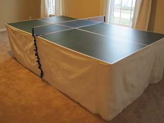 Ping Pong Table Skirt