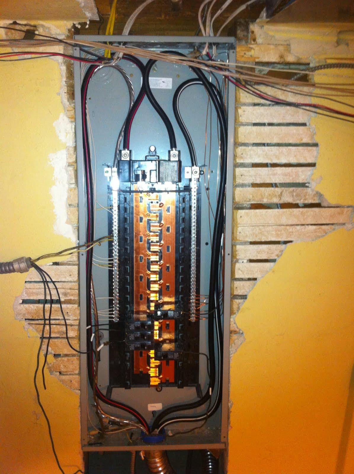 Residential Circuit Breaker Panels Panel Wiring Diagram