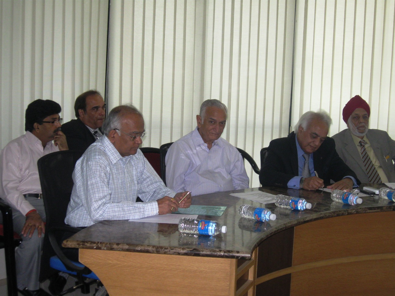 Mr  Shantanu Bhamare in 32nd Advisory Board Meeting of the