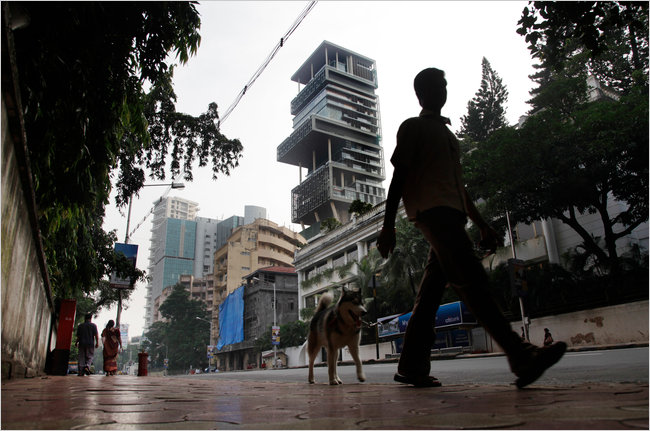 Soaring Above India S Poverty A 27 Story Home The
