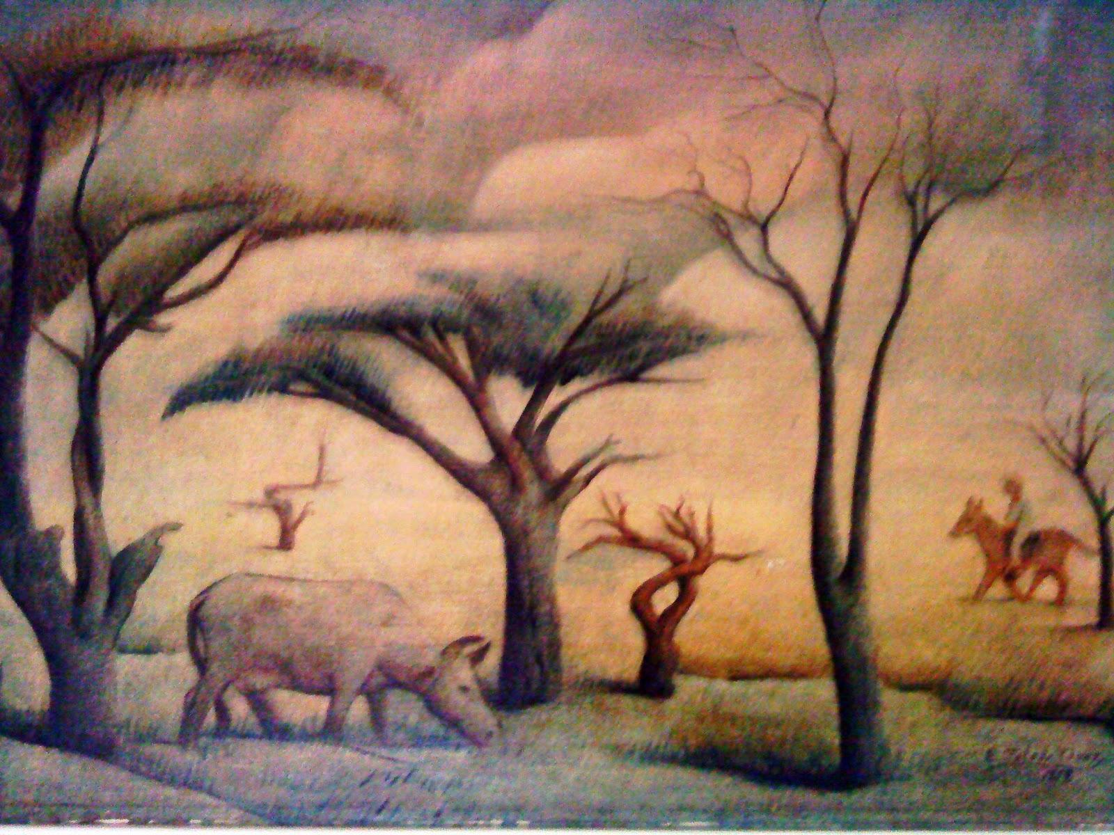 Que significa los arboles secos en una pintura imagui for Que significa dibujar arboles secos