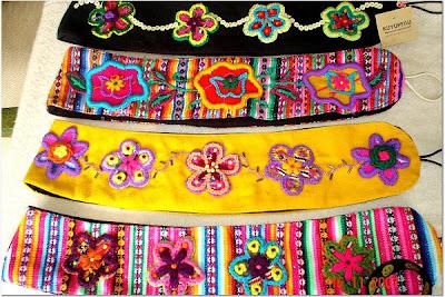 Promoción de ventas atractivo y duradero ropa deportiva de alto rendimiento Hinakuq: Vanguardia Andina: Cinturones importados de Peru