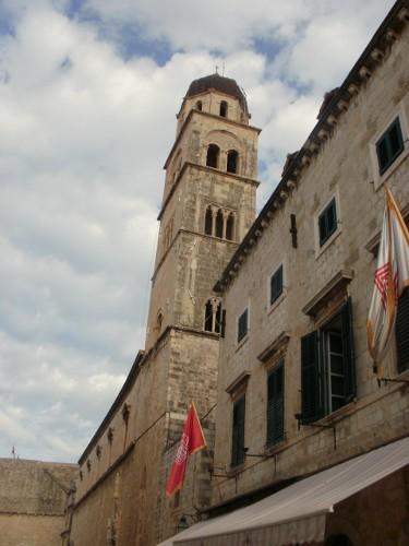 Slike HR - slike iz Hrvatske: Crkva, Stradun, Dubrovnik