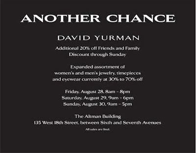 Fashion Prospectress David Yurman Friends And Family