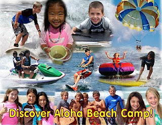 It's only February, but spring is in the air. It's time to sign up for Aloha Beach Camp!