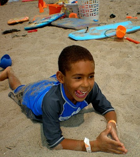 At Aloha Beach Camp summer camp kids can play on the sand, swim in the ocean and do lots more, always supervised by experience counselors who have your child's safety in mind.