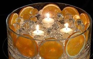 Do It Yourself Weddings: Candles -- Easy DIY Centerpieces