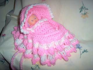 My Crocheted And Knitted Items Cradle Bassinet Purse