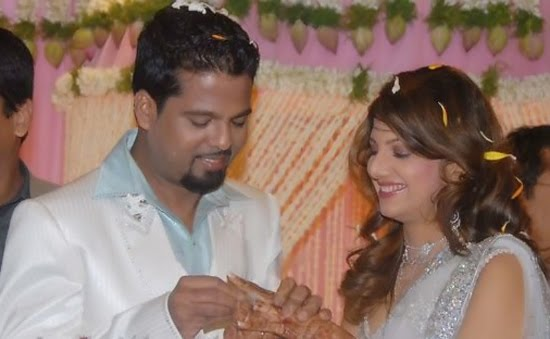 Rambha engagement photos