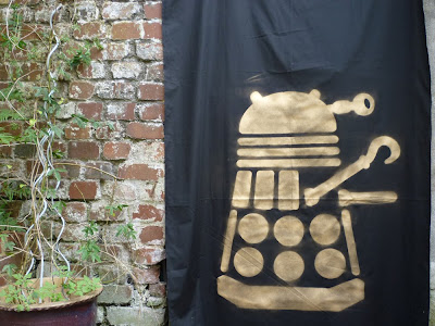 dalek pirate party backdrop