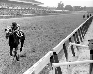 Far ahead at the Belmont
