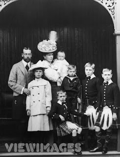 The Saxe-Coburg and Gotha Family and thier children circa 1906