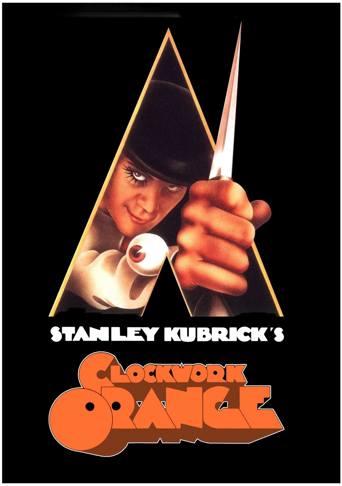 MOVIE POSTERS: A CLOCKWORK ORANGE (1971) A Clockwork Orange Movie Poster Original