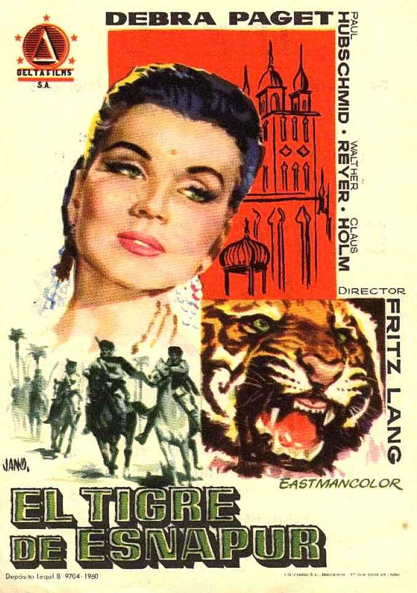 Movie Posters Der Tiger Von Eschnapur Das Indische