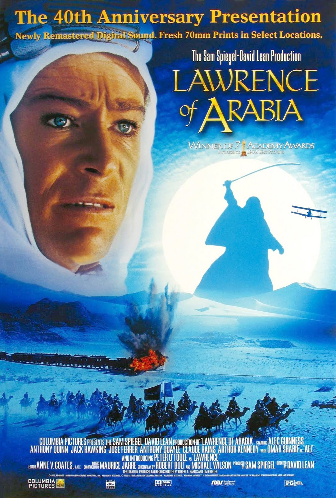 Movie Posters Lawrence Of Arabia (1962