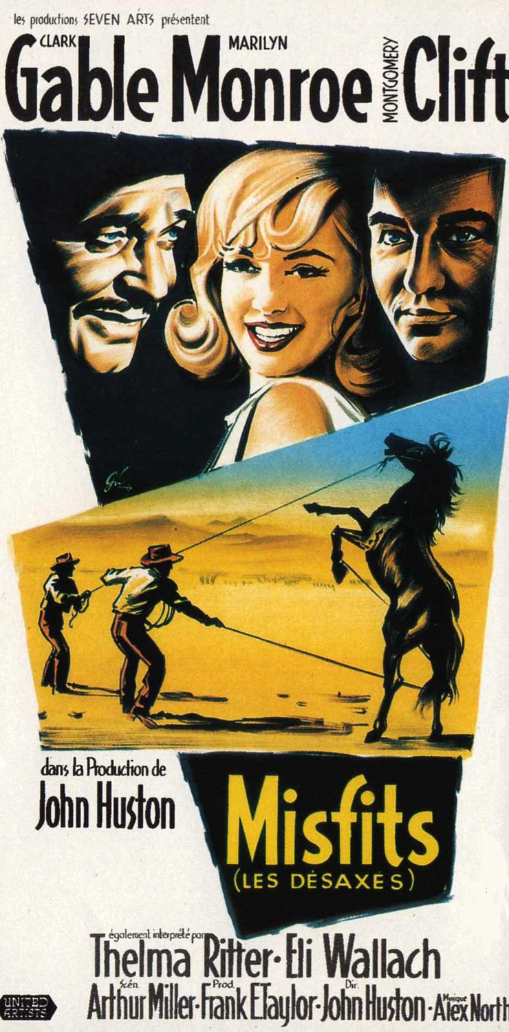 Movie Posters The Misfits 1961