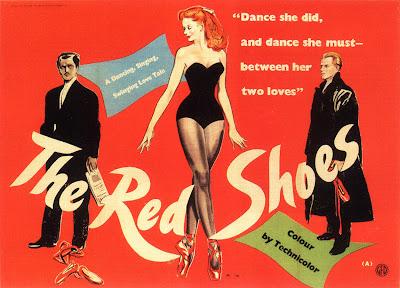 Resultado de imagem para the red shoes 1948 poster
