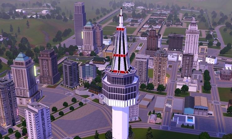 outras cidades para the sims 3