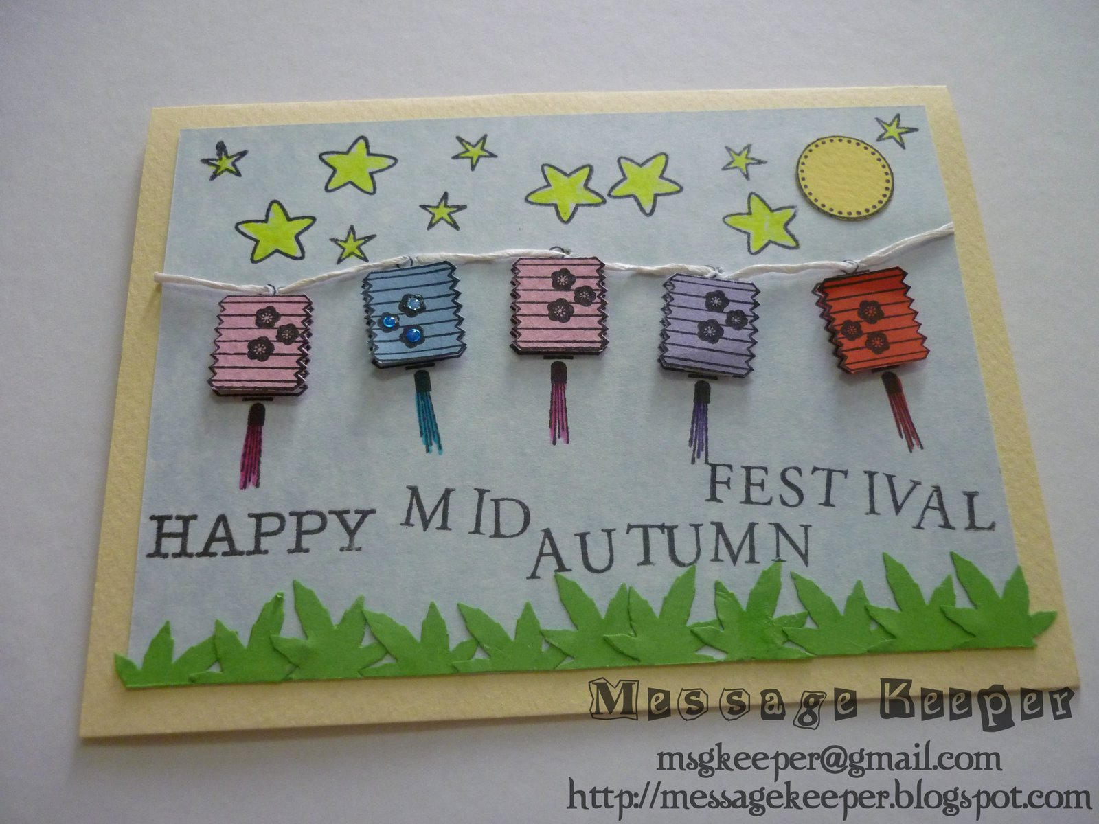 Message Keeper Happy Mid Autumn Festival Card 1
