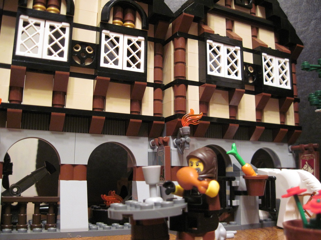 Lego Review - Medieval Market Village | Reviews Of Unusual ...