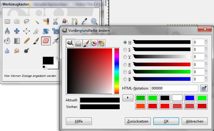 farbe ändern html