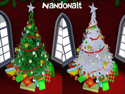 Sims 3 Christmas Tree.The Sims 3 Daily Download Christmas Tree Of The Day